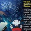 9 Quick Email Marketing Best Practices For Restaurant Industry | LogiChannel